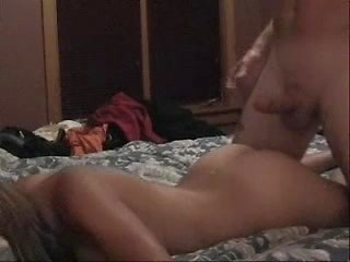 Sexy brunette ex-bf gets hardcore fucked from...